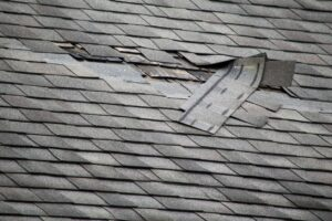Roof Repairs needed to replace damaged shingles